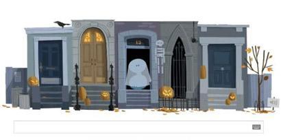 Imagem de Google celebra o Dia das Bruxas com doodle interativo no site TecMundo