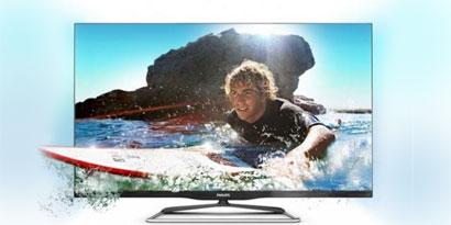 Imagem de Philips lança nova linha de TVs sem bordas no site TecMundo