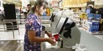 Imagem de Primeiro autocaixa do Brasil faz testes em supermercado do Paraná no site TecMundo