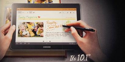 Imagem de Agora é oficial! Samsung apresenta Galaxy Tab 2 e Galaxy Note de 10 polegadas no site TecMundo