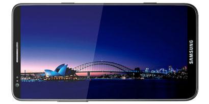 Imagem de Galaxy S III deve trazer tela de 4,8 polegadas e estrutura em cerâmica no site TecMundo