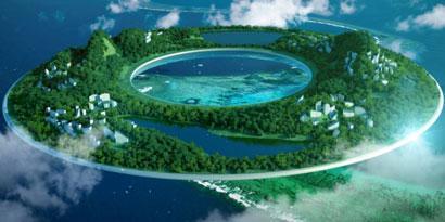Imagem de Céu e Terra se encontram em projeto utópico de designer chinês no site TecMundo