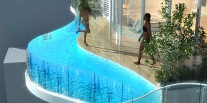 Imagem de Que tal uma piscina na varanda do seu apartamento? no site TecMundo