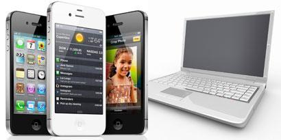 Imagem de Como sincronizar o iPhone a um computador no site TecMundo