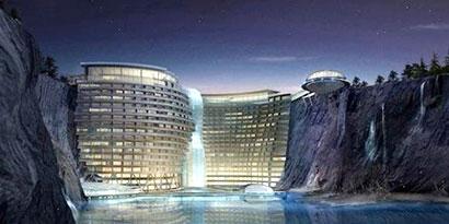 Imagem de Shangai terá hotel de luxo construído em pedreira abandonada no site TecMundo