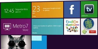 Imagem de Windows 7: como ter a área de trabalho com a interface Metro no site TecMundo