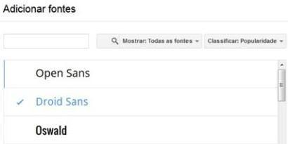 Imagem de Google Docs: como adicionar modelos e fontes no site TecMundo