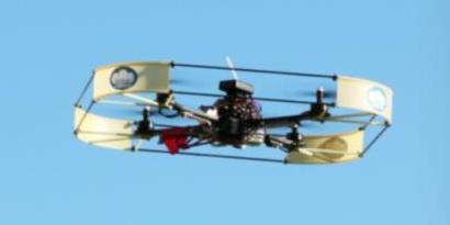 Imagem de Protótipo de quadricóptero fornece energia wireless [vídeo] no site TecMundo
