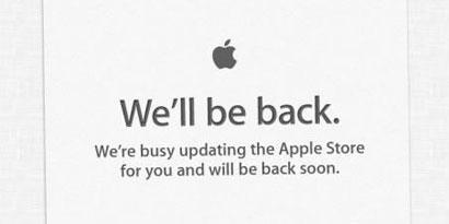Imagem de Apple Store sai do ar, indicando a proximidade de novidades no site TecMundo