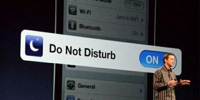 Imagem de iOS 6: opções Não Perturbe e Responda com Mensagem foram confirmadas no site TecMundo