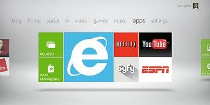 Imagem de Internet Explorer não terá suporte para Flash no Xbox 360 no site TecMundo