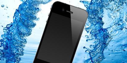 Imagem de Derrubou seu iPhone na água? Pois a Apple vai saber no site TecMundo