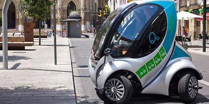 Imagem de Veja como os carros dobráveis podem solucionar o caos urbano no site TecMundo