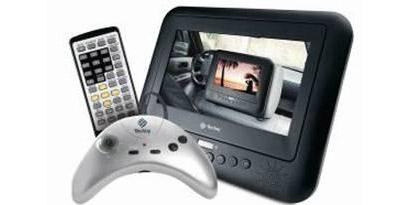 Imagem de Tectoy lança DVD mobile com controle remoto, suporte para veículo e joystick com 12 games na memória no site TecMundo