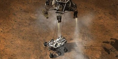 Imagem de Sonda Curiosity: como os dados de Marte chegam até a NASA? no site TecMundo