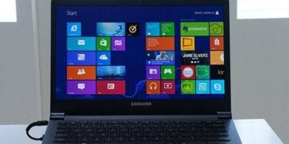 Imagem de Samsung mostra notebook com tela mais poderosa que a Retina da Apple no site TecMundo