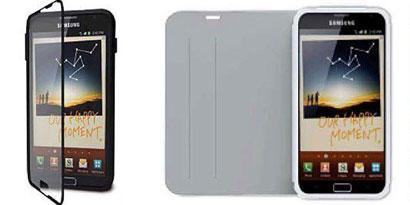 Imagem de Galaxy Note 2 ganha acessórios incríveis da marca iLuv no site TecMundo
