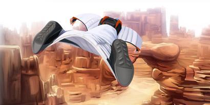 Imagem de Wingsuit: como funciona a roupa que transforma você em um pássaro [ilustração] no site TecMundo
