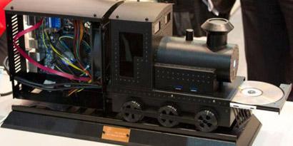 Imagem de Casemod no formato de um trenzinho deve começar a ser vendido nos Estados Unidos [vídeo] no site TecMundo