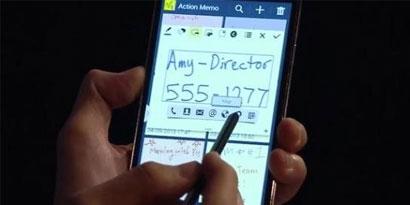 Imagem de Samsung apresenta caneta S-Pen cheia de novidades para o Galaxy Note 3 no site TecMundo