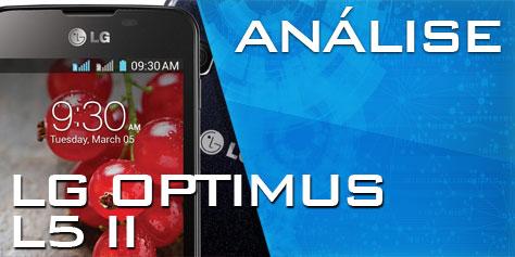 Imagem de Análise: smartphone LG Optimus L5 II [vídeo] no site TecMundo