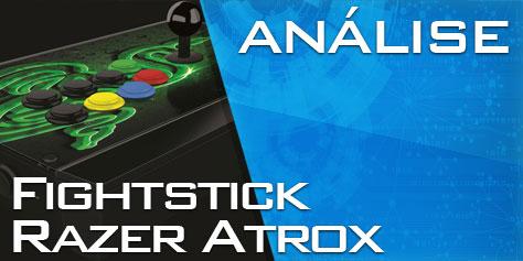 Imagem de Análise: controle arcade Razer Atrox [vídeo] no site TecMundo