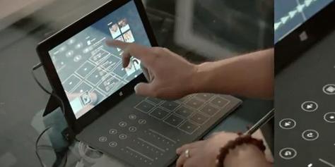 Imagem de Microsoft anuncia capa para o Surface com recursos de mixagem para DJs no site TecMundo