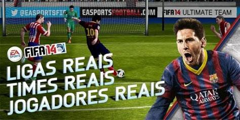 Imagem de FIFA 14 chega em versão gratuita para plataformas Android e iOS no site TecMundo