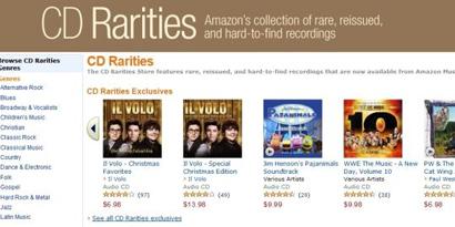 Imagem de Amazon pretende oferecer MP3 dos CDs que você comprar na loja no site TecMundo