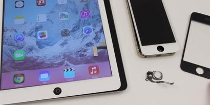 Imagem de iPad 5 poderá ter sensor biométrico integrado ao botão Home [vídeo] no site TecMundo