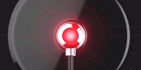 Imagem de Empresa cria mira de LED que pode ser fixada na TV para facilitar games FPS no site TecMundo