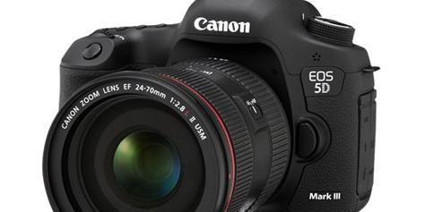 Imagem de Análise: Canon EOS 5D Mark III no site TecMundo