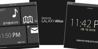 Imagem de Vazam supostas imagens do Altius, o relógio inteligente da Samsung no site TecMundo