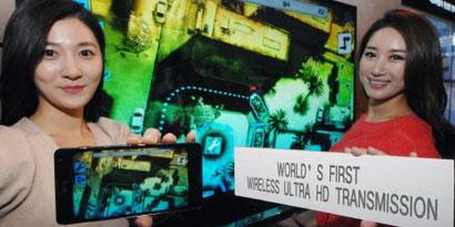 Imagem de LG faz demonstração de streaming sem fio de vídeo em Ultra HD no site TecMundo