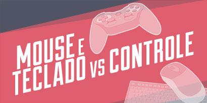 Imagem de Mouse/teclado ou controle: qual é a melhor opção para jogos? [ilustração] no site TecMundo