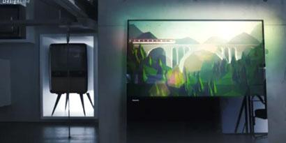 Imagem de Nova smart TV da Philips não precisa de estante ou parafusos na parede no site TecMundo