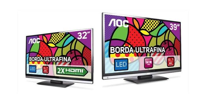 Imagem de AOC lança nova linha de TVs LED de 32 e 39 polegadas no site TecMundo