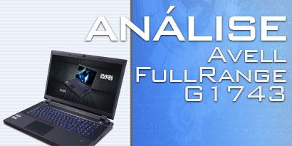 Imagem de Análise: Notebook Avell FullRange G1743 [vídeo] no site TecMundo