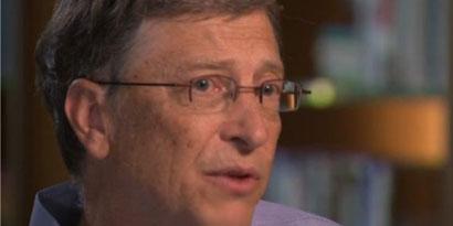 Imagem de Bill Gates se emociona ao falar de Steve Jobs em entrevista no site TecMundo