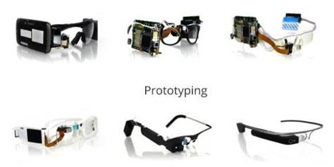 Imagem de Conheça os primeiros protótipos do Google Glass no site TecMundo