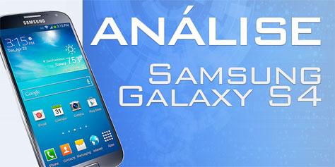Imagem de Análise: Samsung Galaxy S4 [vídeo] no site TecMundo