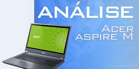 Imagem de Análise: Ultrabook Acer Aspire M [vídeo] no site TecMundo
