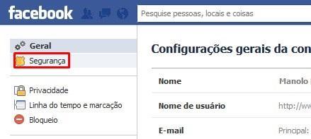 """Entre as opções listadas, procure """"Contatos de confiança"""" e selecione  """"Editar"""". cea6763580"""