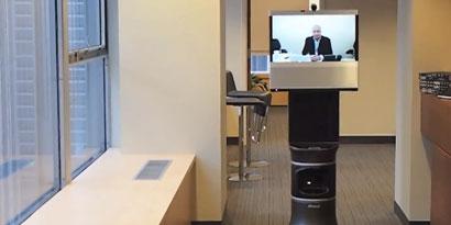 Imagem de Conheça o AVA 500, um robô de telepresença desenvolvido pela iRobot no site TecMundo