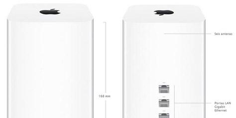 Imagem de Apple: novo AirPort Extreme oferece conexão WiFi 3 vezes mais rápida no site TecMundo