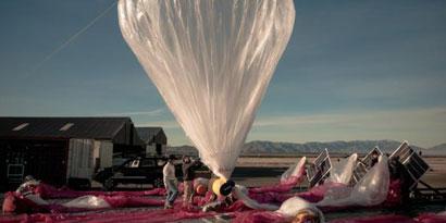 "Imagem de Projeto ""Loon"" pretende distribuir internet via balões de ar quente [vídeo] no site TecMundo"