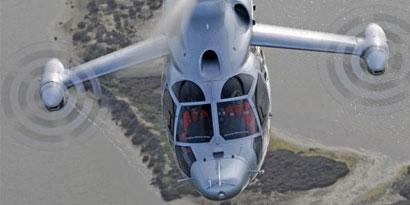 Imagem de Helicóptero bate recorde de velocidade e atinge 480 km/h no site TecMundo