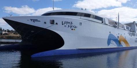 Imagem de Navio mais rápido do mundo navega a mais de 100 km/h no site TecMundo