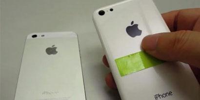 Imagem de Suposta case do iPad 5 e iPhone 5C aparecem em vídeo no site TecMundo