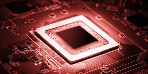 Imagem de 9 processadores que foram lendas em matéria de overclock no site TecMundo